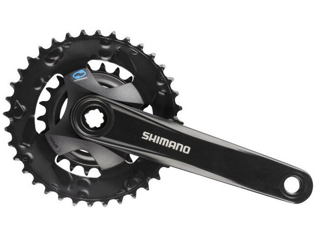 Shimano FC-M315 Crank Set 2x7/8-speed 36-22T